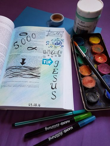 kreativ bible art journaling